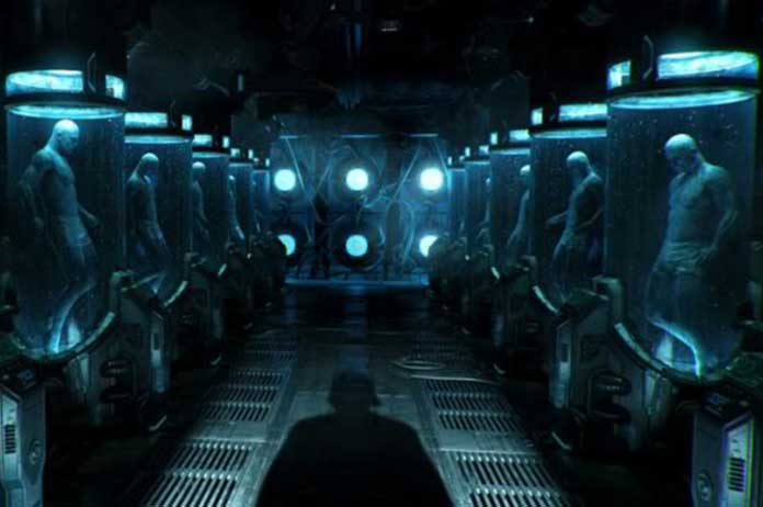 Underground Bases And Cloning Centers