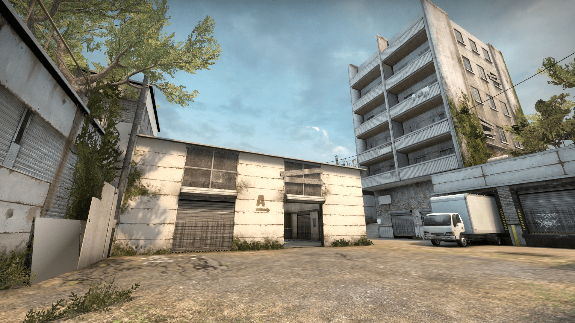 A picture of the cs go competetive map cache