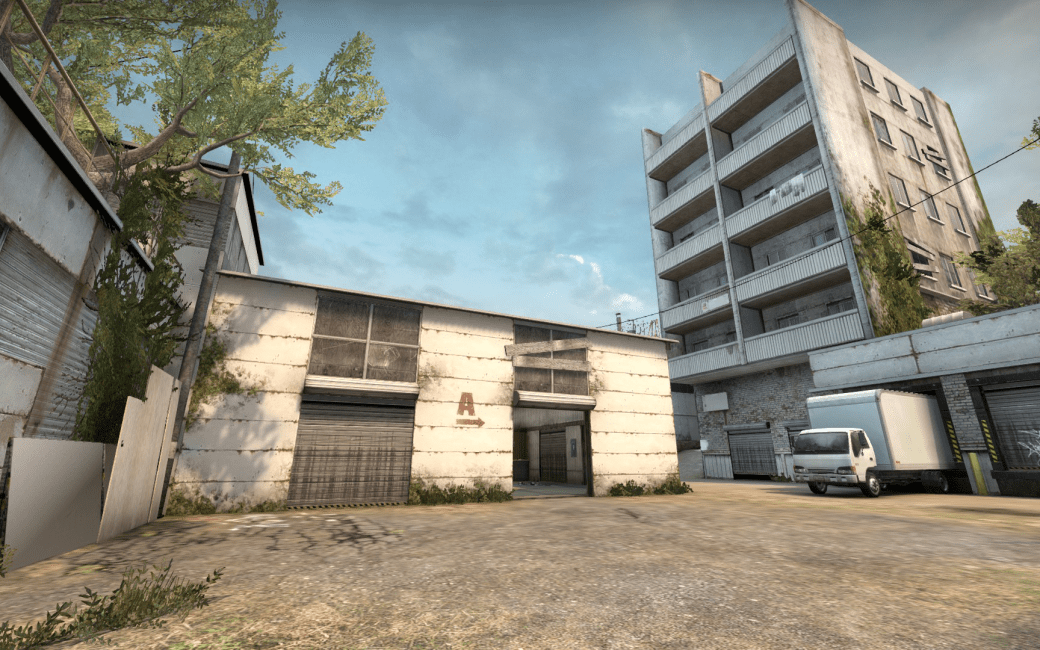 Picture of the Counter-Strike Globale Offensive Map Cache