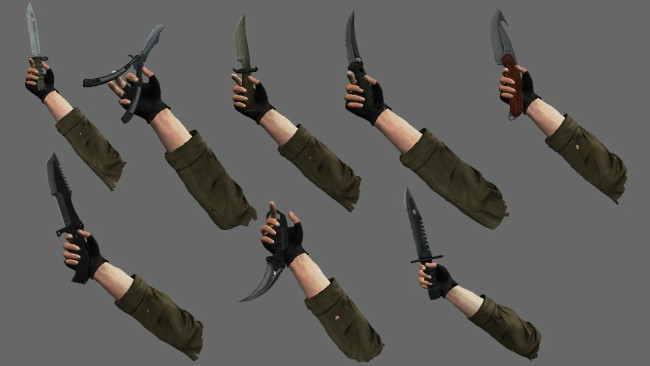 cs go knives gut batterfly huntsman bowie best skins