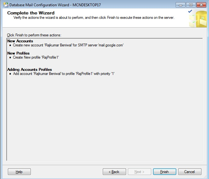 Database Mail Xps Security Risk