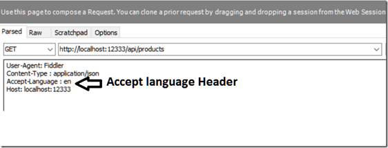 Accept Language Headers
