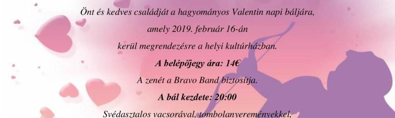 Valentín bál 2019.február.16