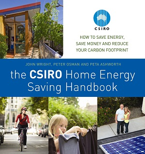 The cover of the CSIRO Home Energy Saving Handbook