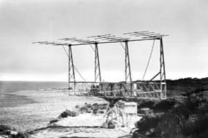 This 8-element Yagi antenna was built in 1951