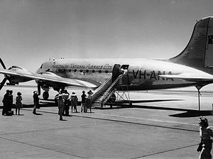 Australian National Airways Douglas DC-4 VH-ANA Amana