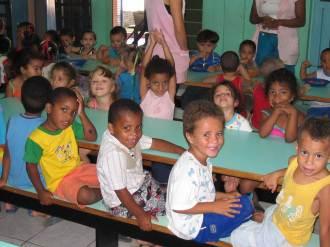 Feeding children in Brazil