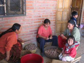 Feeding the community in Bolivia