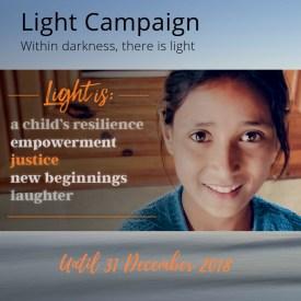 Light campaign 2018 launch