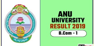 ANU BCom 1st Year Result 2019