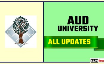 AUD Result Time Table Admit Card Admission