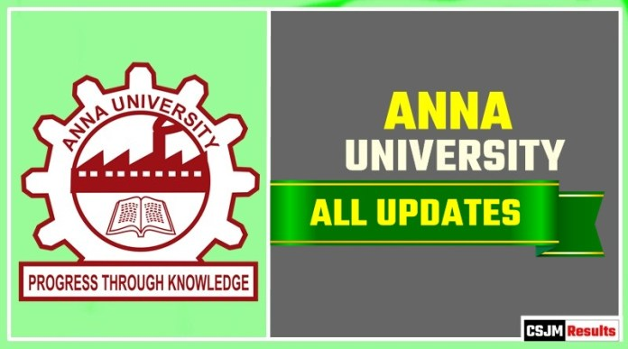 Anna University Result Time Table Admit Card Admission