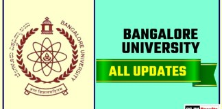 Banglore University Result Time Table Admit Card Admission