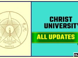 Christ University Result Time Table Admit Card Admission