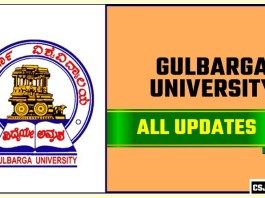 Gulbarga University Result Time Table Admit Card Admission