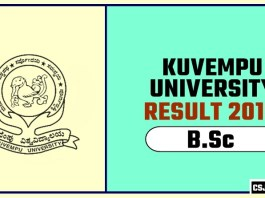 Kuvempu University BSc 1st 2nd 3rd Year Result 2019