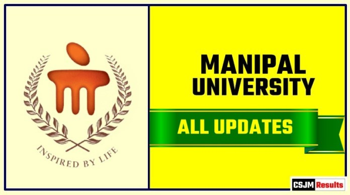 Manipal University Result Time Table Admit Card Admission