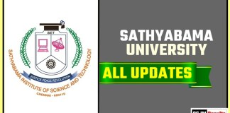 Sathyabama University Result Time Table Admit Card Admission