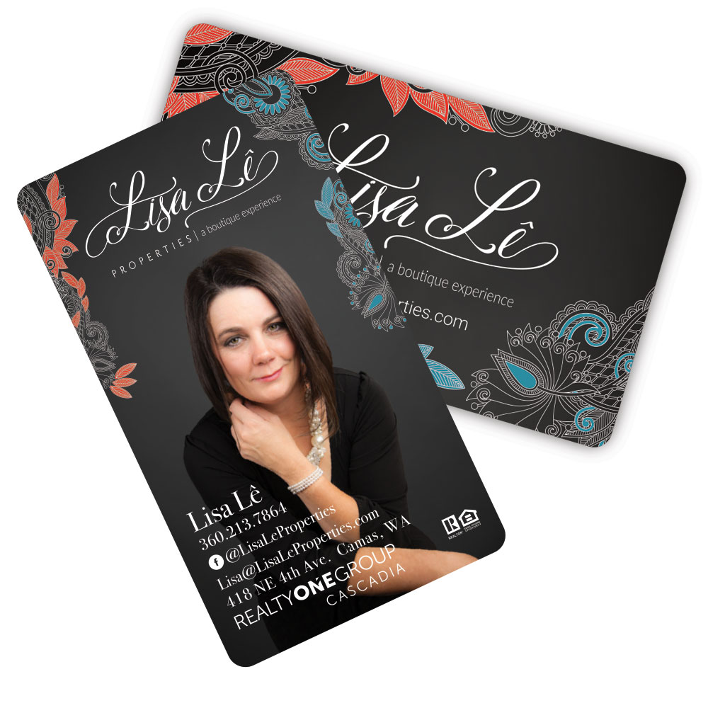Business card for Lisa Le Properties