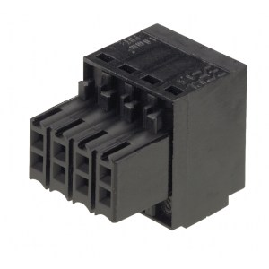 PCB plug-in connector (wire connection), 3.50 mm, Number of poles: 10, Tension-clamp connection