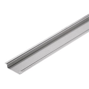 Terminal rail, without slot, Accessories, 35 x 7.5 x Steel, galvanized, chromium-plated