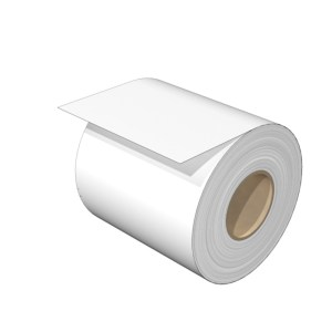 Ink ribbon (Printer), Width: 84 mm, Length: 300000 mm, white