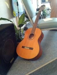 Rev. Sandra Swift's Guitar - Center for Spiritual Living Anacortes