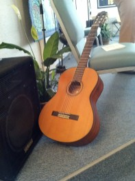 Rev. Sandra Swift's Guitar - Center for Spiritual Living Anacortes