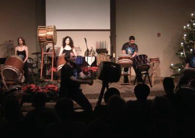 Taikodelic Drumming at Winter Solstice