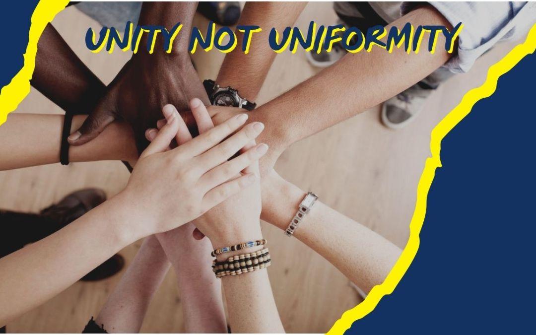 Unity Not Uniformity