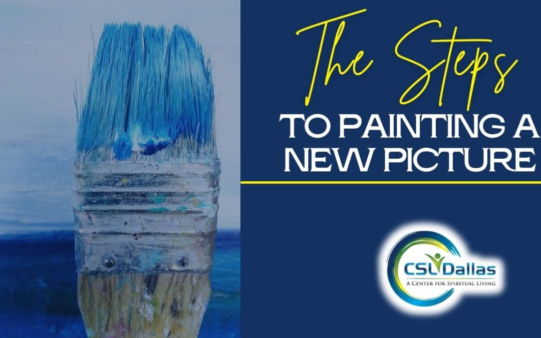 The checklist to painting a new picture