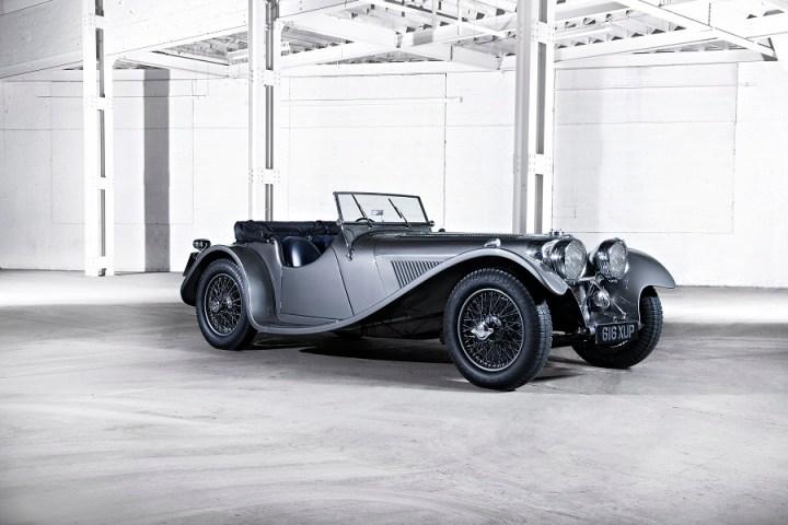 Modèle Jaguar SS