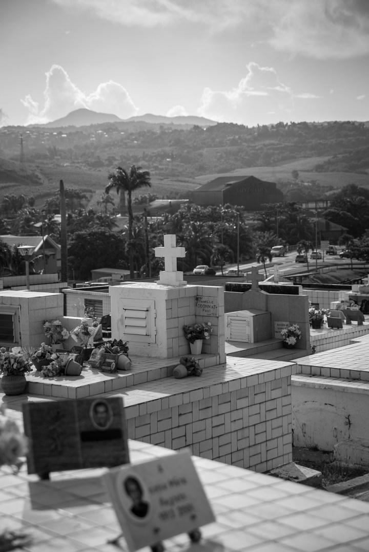 Cimetière de Sainte-Marie en Martinique