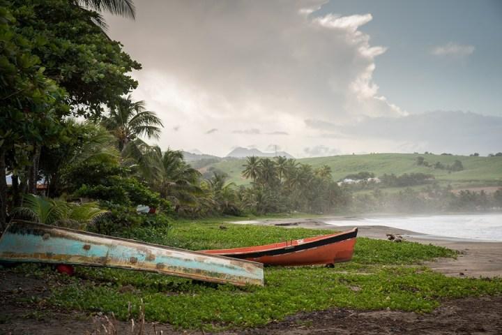 Plage de Sainte-Marie en Martinique