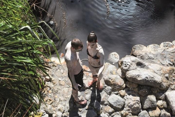 Bain de boue Ste Lucie
