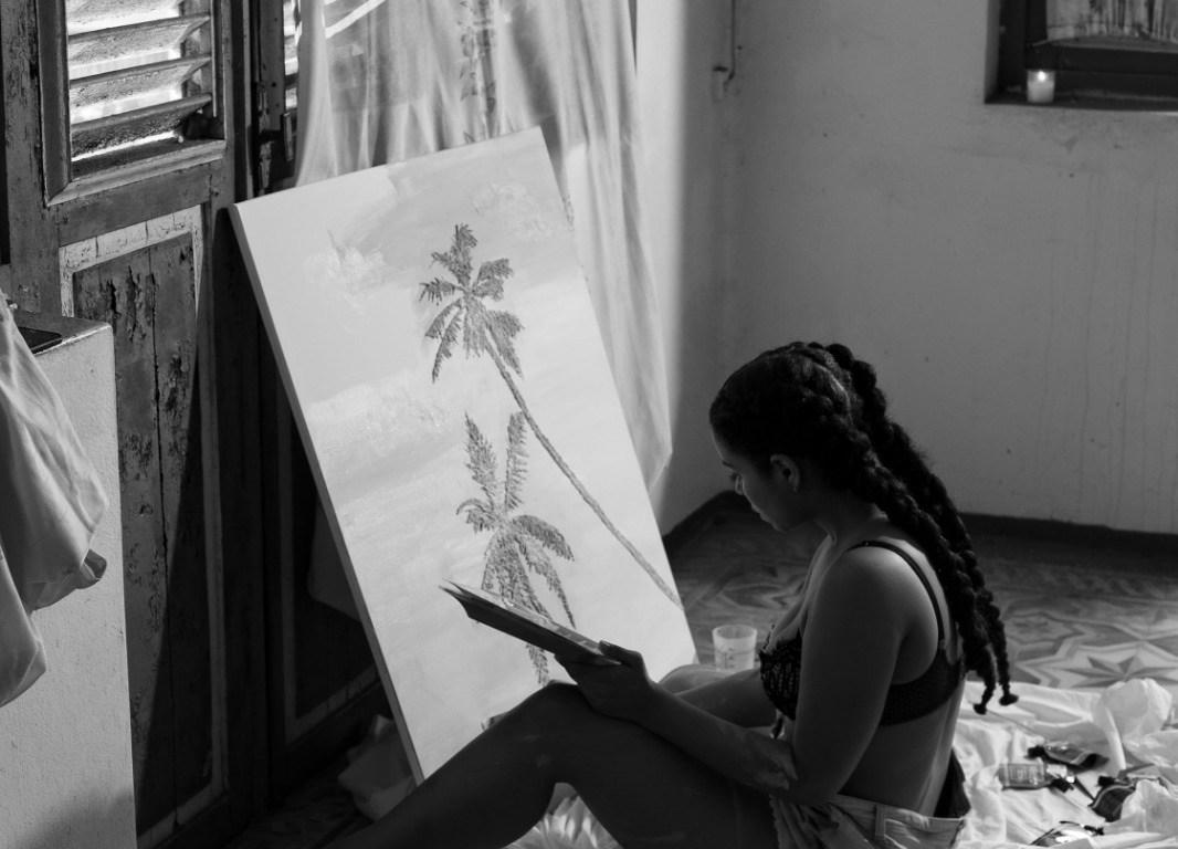 Naomie, artiste guyanaise