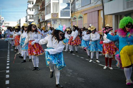 Défilé Mas Moul Massif - Guadeloupe