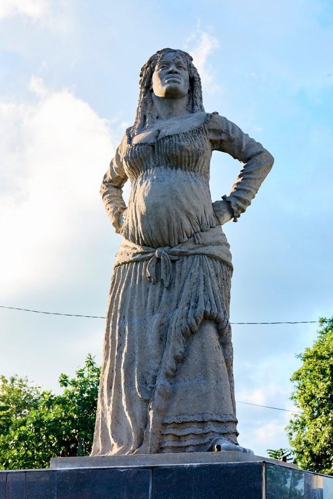 Statue de la mulatresse Solitude - Guadeloupe