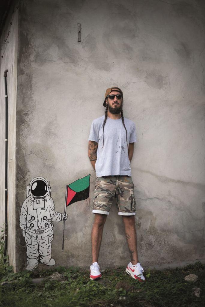 Cosmonaute créé par Zé Ben - Martinique