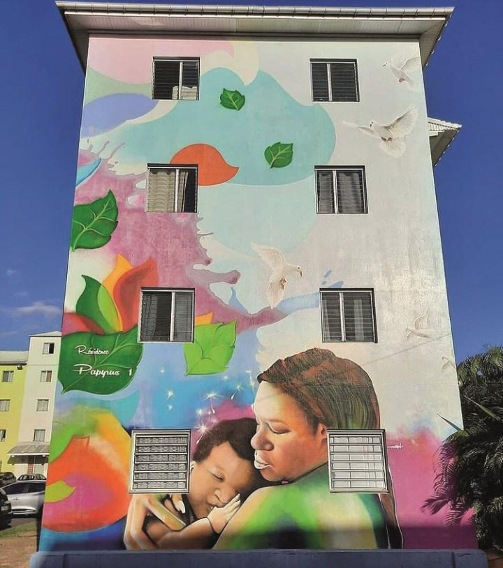 Fresque Al Pacman - Guadeloupe