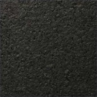 Rubber Flooring Solid Black
