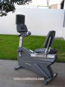 Life Fitness 95Ri Recumbent Bike with TV