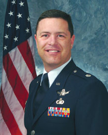Lt. Col. Steven Staats, 22nd Space Operations Squadron commander