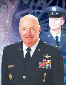 Maj. Gen. Thomas Deppe, Air Force Space Command vice commander, retires after 42 years of military service.