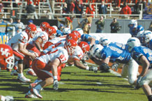 The 2009 Bell Helicopter Armed Forces Bowl will offer the Falcons a chance at redemption. They fell to Houston 34-28 in the 2008 Armed Forces Bowl. Photo by Dave Armer