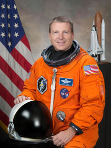 Col. Terry Virts Jr., a 1989 graduate of the Air Force Academy, will pilot the Space Shuttle Endeavour during the STS-130 mission scheduled for Sunday. Photo Courtesy of NASA