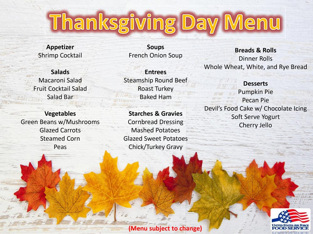 Thanksgiving-Day-Menu