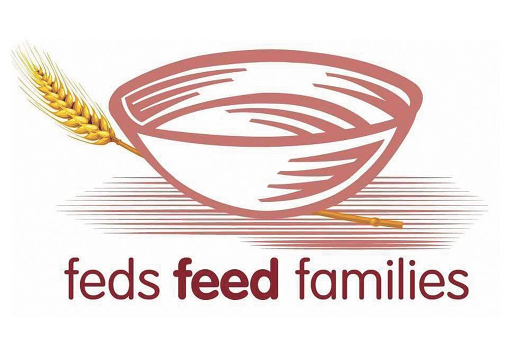 (Courtesy graphic) In an effort to combat hunger in the community, the 21st Space Wing is participating in the Feds Feed Families food drive, which began June 1, 2016 and will continue until Aug. 31. Since its creation in 2009, Feds Feeds Families collected more than 57.2 million pounds of food. Last year alone, more than 17.9 million pounds was donated by federal employees.