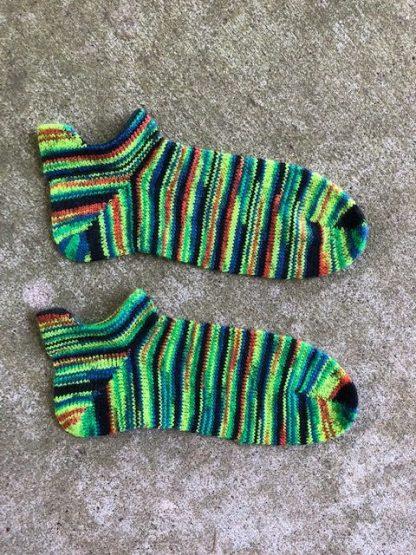 heel tabbed short socks