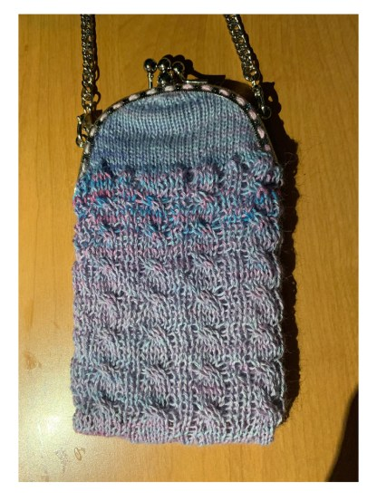 Myra Kness Cabled Purse 1
